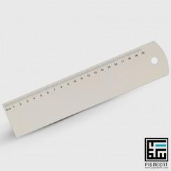 چاپ خط کش چوبی 20 سانتی