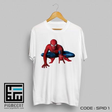 تیشرت تولد تم مرد عنکبوتی spid1