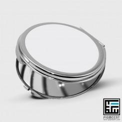 چاپ آینه جیبی دایره
