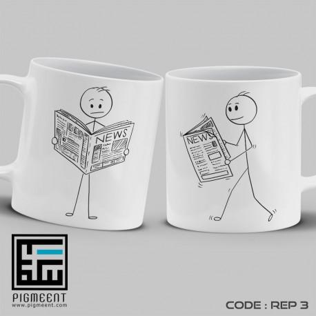 ماگ روز خبرنگار تم اخبار کد rep3