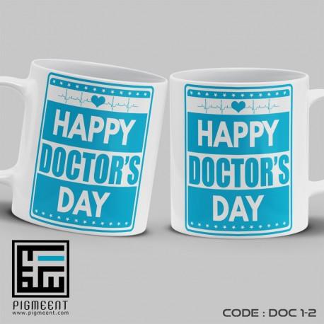 ماگ روز پزشک تم happy doctors day کد dac1-2