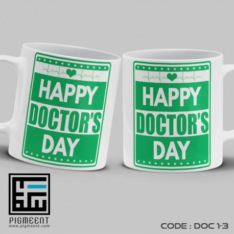 ماگ روز پزشک تم happy doctors day کد dac1-3