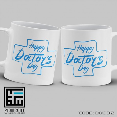 ماگ روز پزشک تم happy doctors day کد dac3-2
