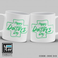 ماگ روز پزشک تم happy doctors day کد dac3-3
