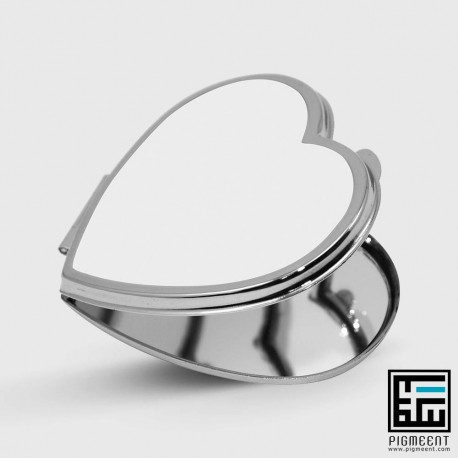 آینه جیبی قلب